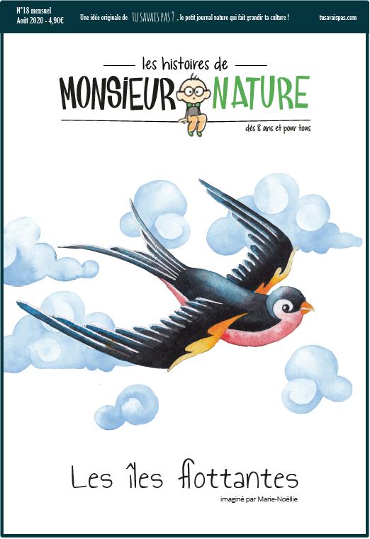 marie Noëlie les histoires de Monsieur Nature magazine nature