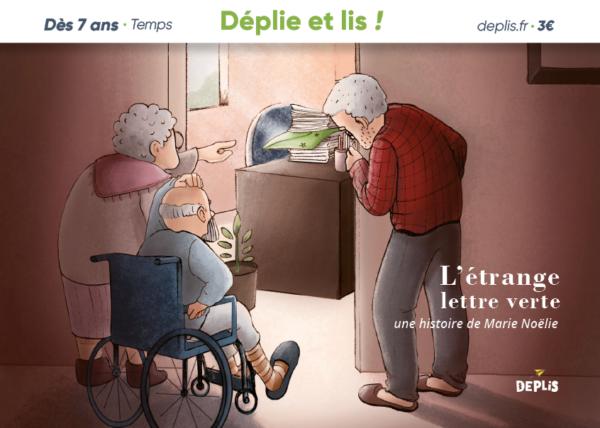 histoire courte DEPLIS Marie Noëlie- L'étrange lettre verte