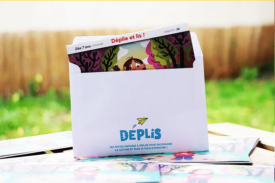 DEPLIS histoire 7 ans 12 ans David Volpi