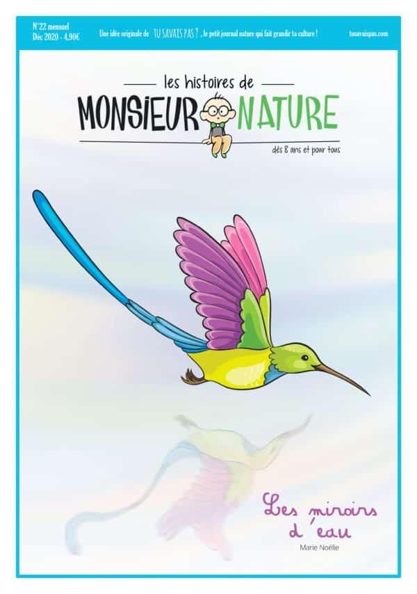 miroirs d'eau colibris - monsieur nature marie noelie